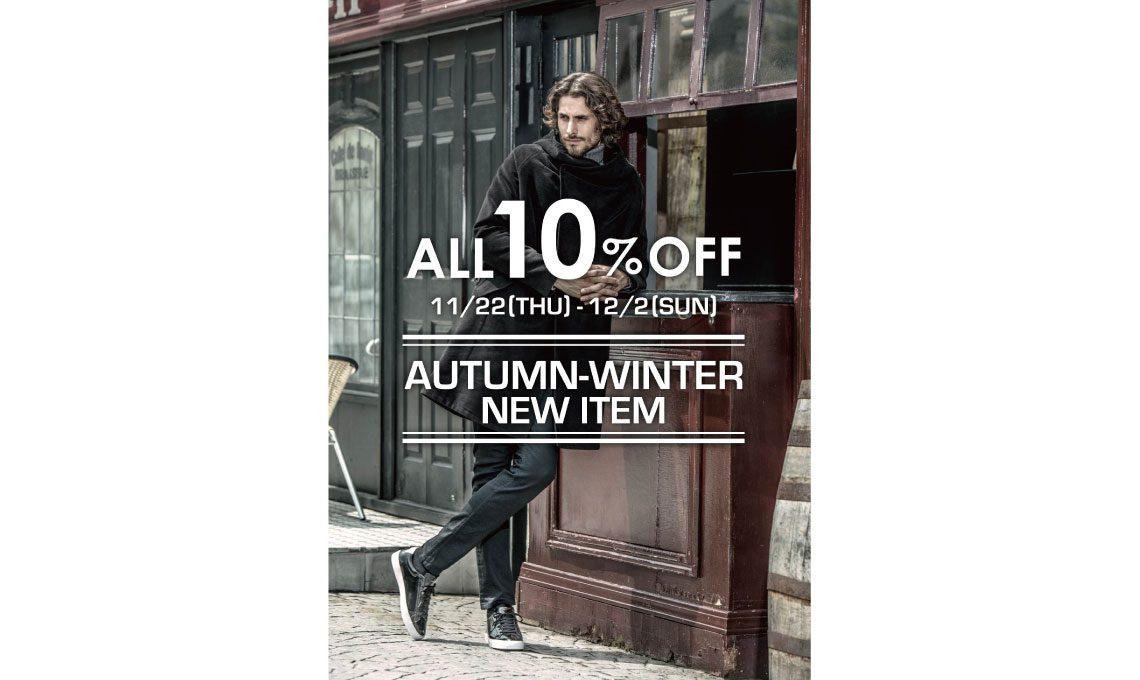 【AUTUMN-WINTER NEW ITEM  10%OFF】